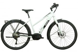Breezer Powerwolf Evo ST 2019 E-Bike mit Bosch Performance CX Motor, Color: White