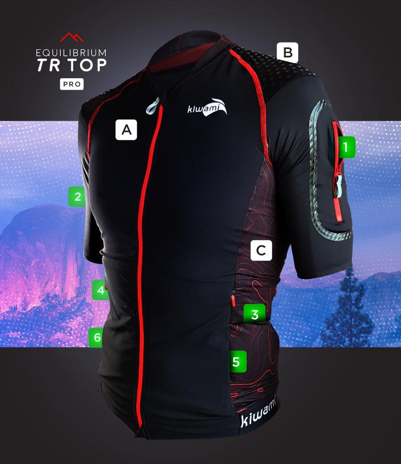 KiWAMi Equilibrium Trail Top Pro