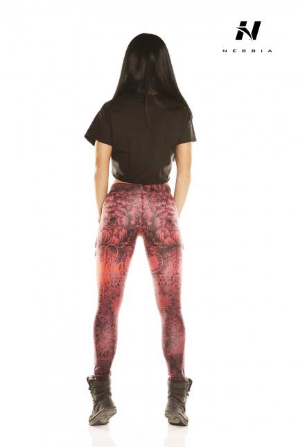 Nebbia Leggings Art Collection Bordo 880