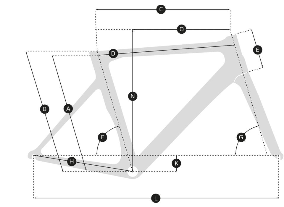 Ridley X-Bow Geometrie